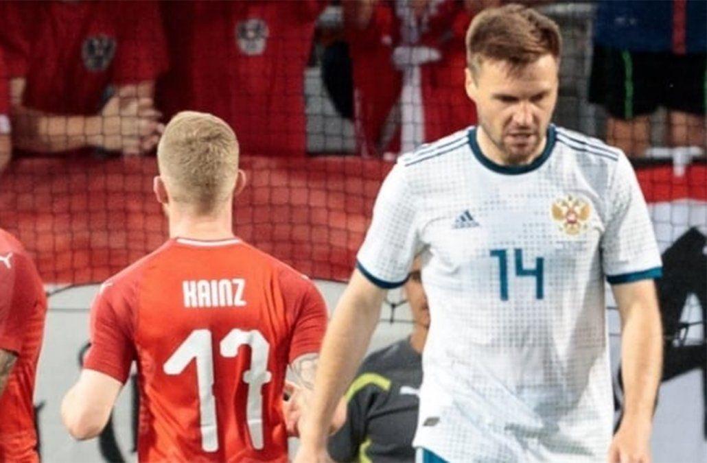 Rusia, otro de los rivales de Uruguay, perdió con Austria