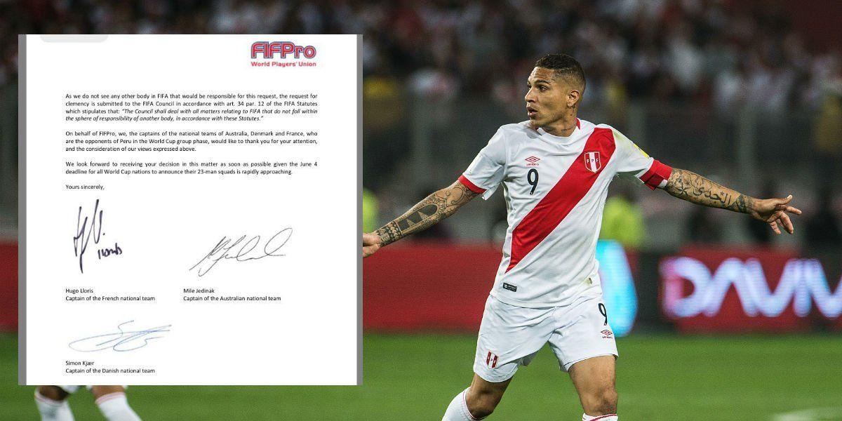 Peruano Guerrero jugará en Rusia ya que tribunal suspenderá la sanción