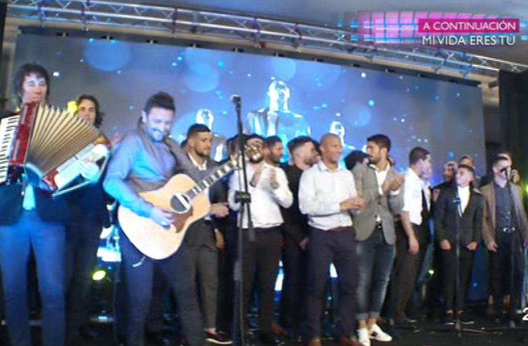 La cena de la Fundación Celeste, lo más visto en la televisión ayer; el podio fue para Canal 10