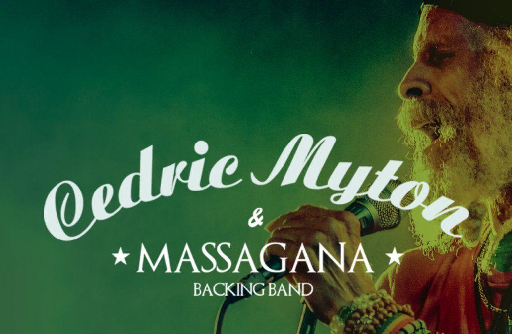 Cedric Congo Myton con Massagana backing band en Bluzz Live