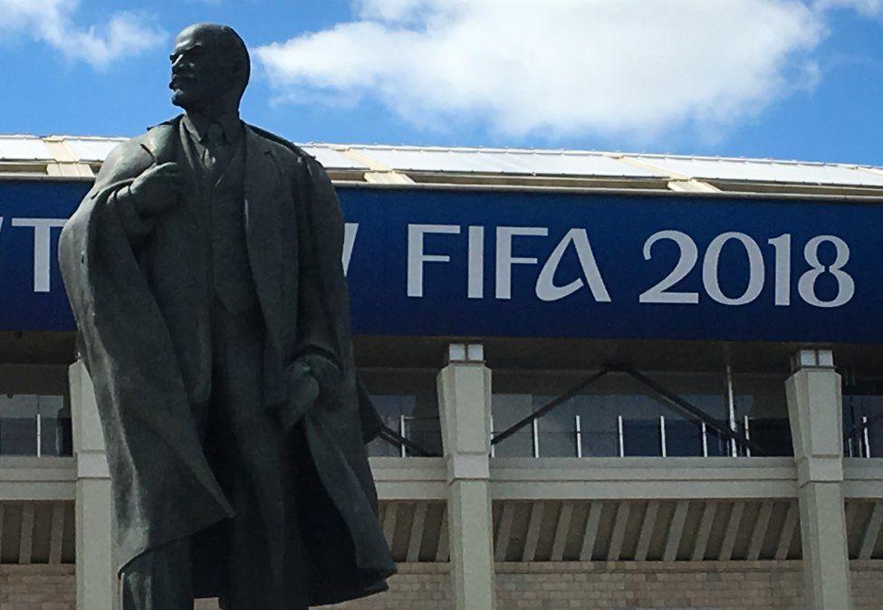 El viejo Estadio Central Lenin: una de las maravillas que Rusia presentará en el Mundial
