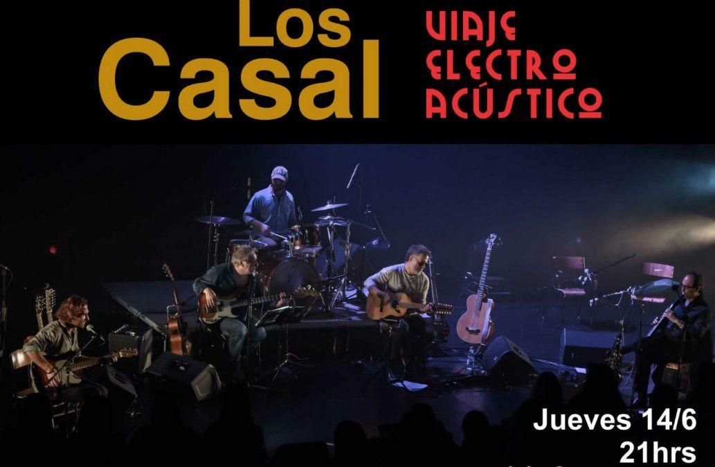 Los Casal presentan libro y nuevo show en Auditorio del Sodre