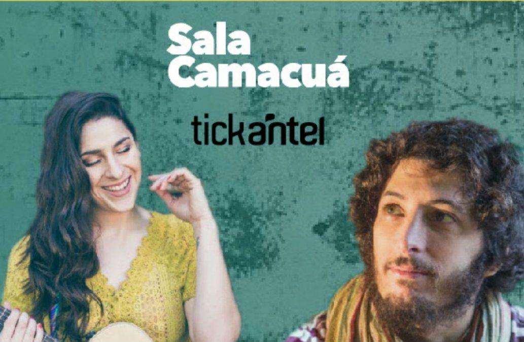 Adrián Berra & Vane Butera en Sala Camacuá
