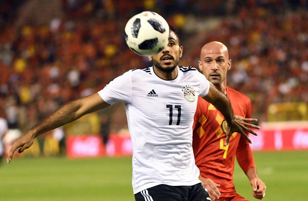 Egipto perdió 0-3 con Bélgica en amistoso disputado en Bruselas