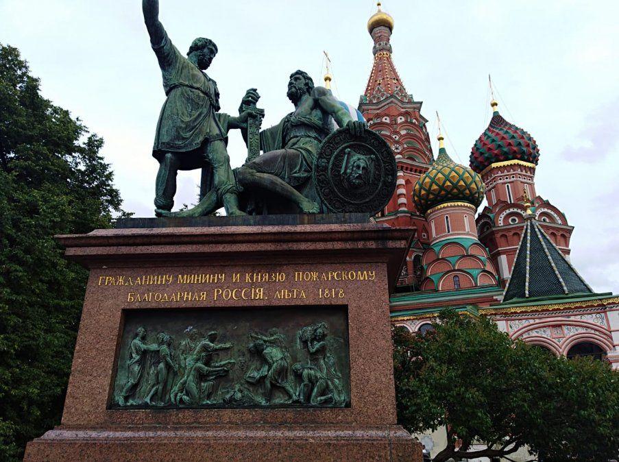 Monumento a Minin y Pozharsky