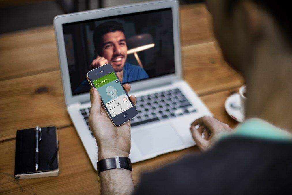 Línea directa con Luis Suárez se hace viral