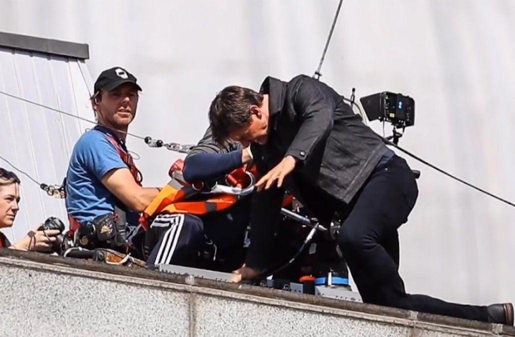 Tom Cruise por los aires: los riesgos de rodar Misión imposible