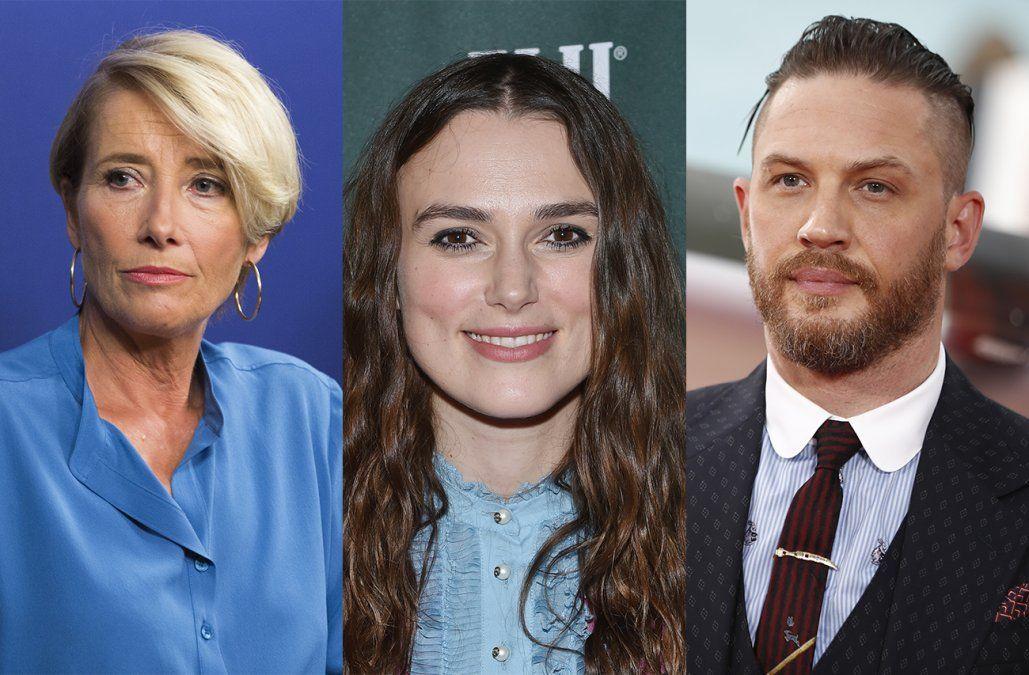 Emma Thompson y Keira Knightley serán condecoradas por la reina Isabel II