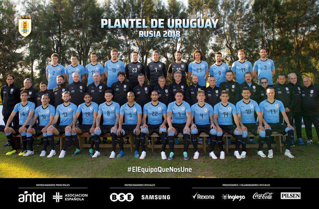 ¡Arriba la Celeste! Uruguay terminó en el quinto lugar del Mundial de Rusia