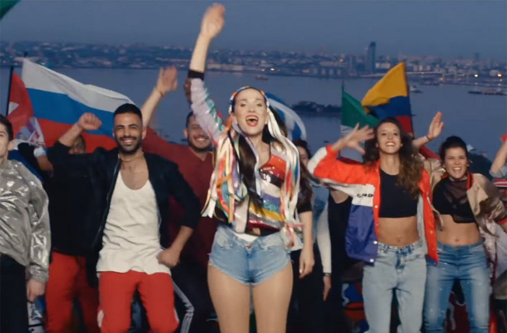 Natalia Oreiro lanzó el video oficial de United By Love