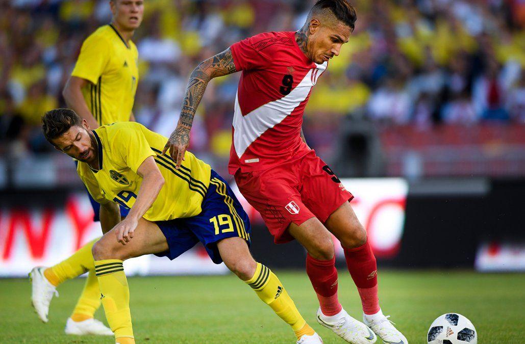 Suecia y Perú igualan 0-0 en amistoso previo al Mundial de Rusia
