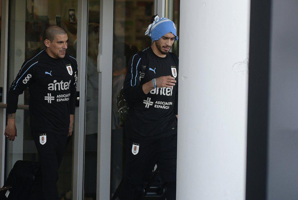 Uruguay llegó a Rusia y ya está instalado en el Sports Centre de Borsky