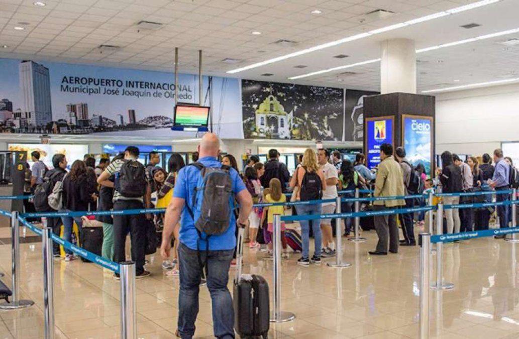 Un libanés sin pasaporte lleva 42 días atrapado en el aeropuerto de Ecuador