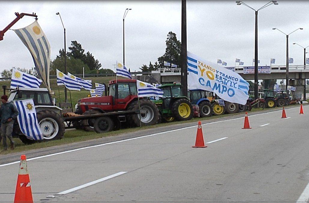 Un solo Uruguay protesta en 34 puntos del país, aunque no cortará rutas