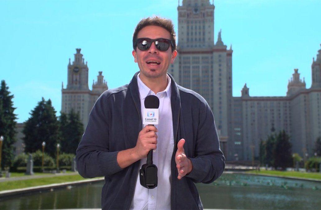 Rafael Cotelo recorre la historia de la Universidad Estatal de Moscú