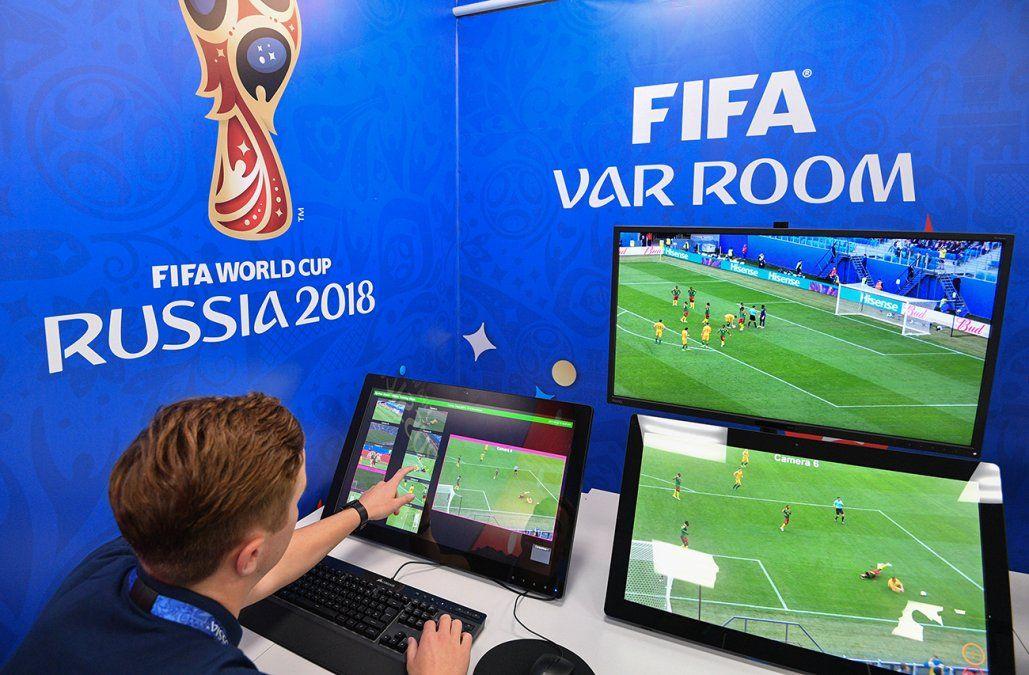 Los cuatro casos en los que se utilizará el VAR durante los partidos del Mundial