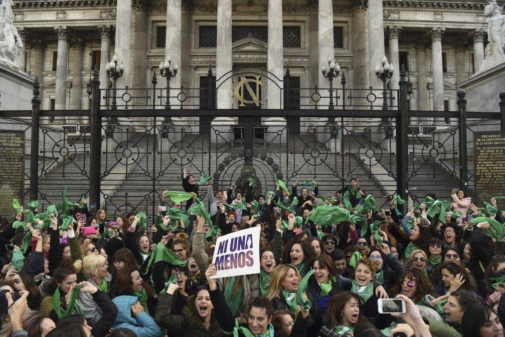 Argentina se prepara para votación clave en despenalización del aborto