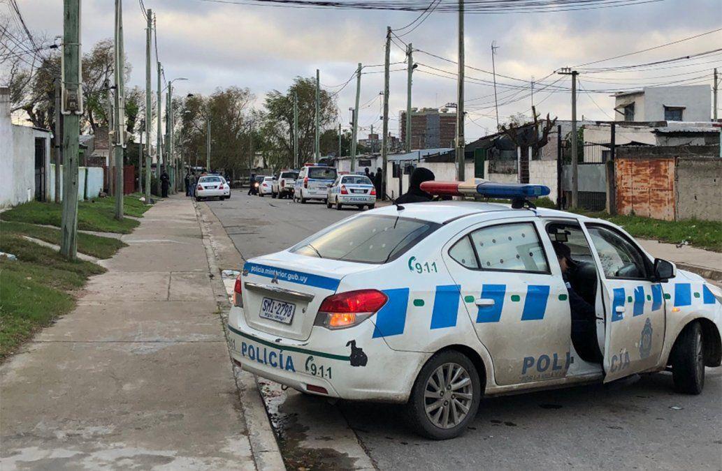 Mega operativo policial en Malvín Norte: no entran ni salen personas
