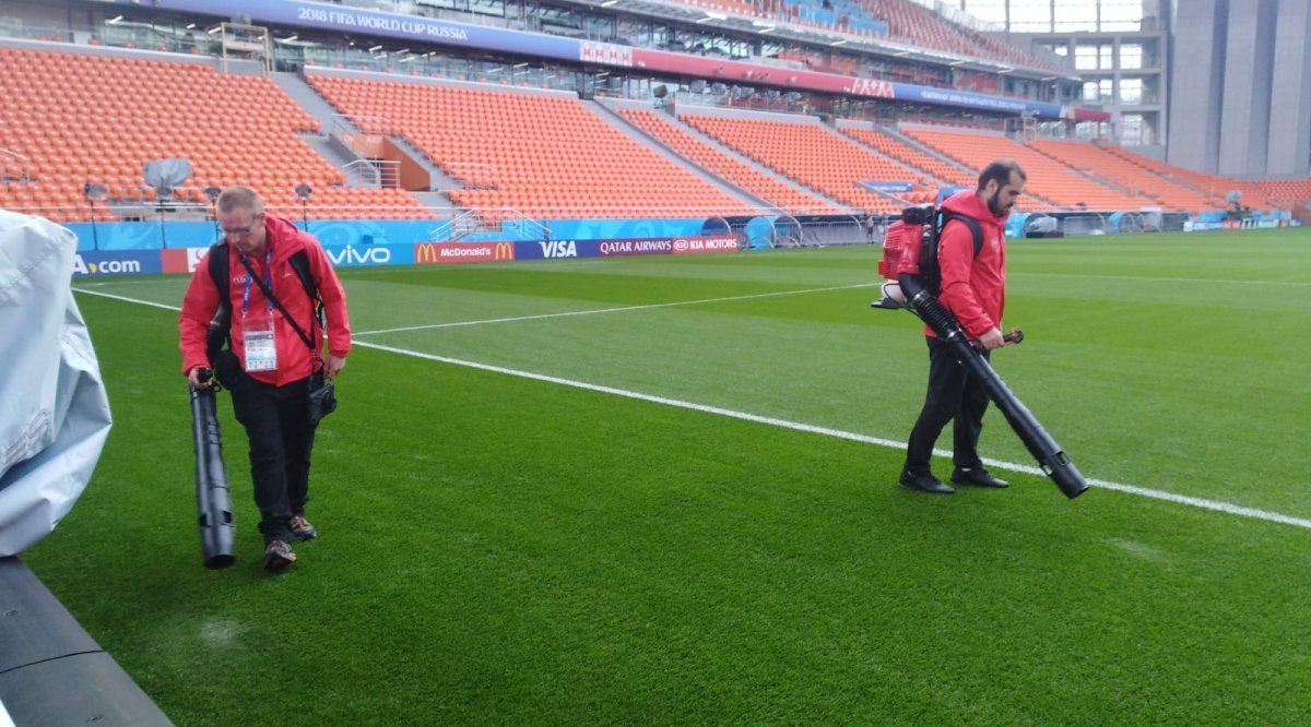 Así está el Ekaterimburgo Arena, el estadio donde debutará Uruguay