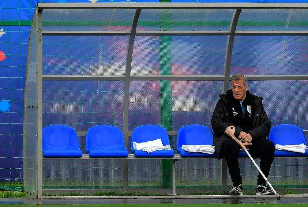 Uruguay reconoce este jueves el estadio y con equipo casi confirmado espera el debut