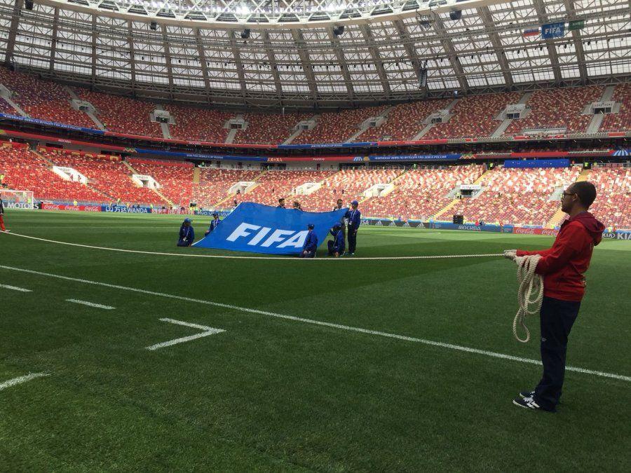 Ceremonia inaugural del Mundial 2018: así estuvo Estadio Luzhniki