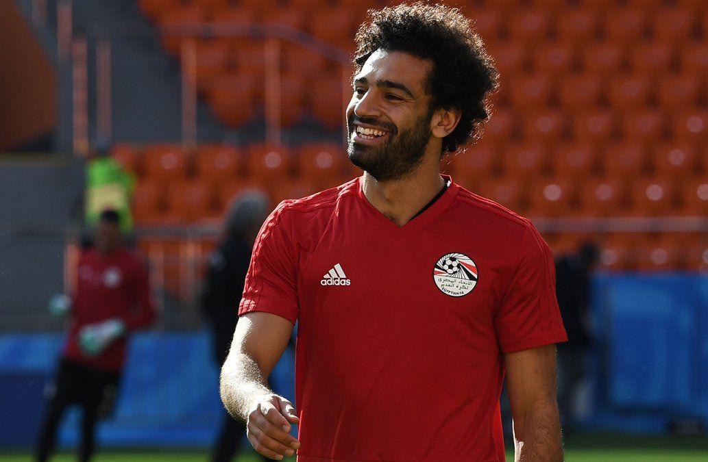 Salah casi al 100% seguro de jugar ante Uruguay, dice técnico de Egipto