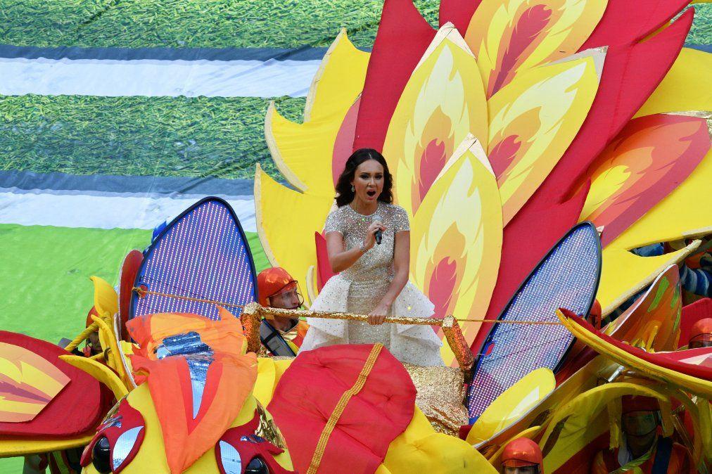 Las mejores imágenes de la ceremonia inaugural del Mundial