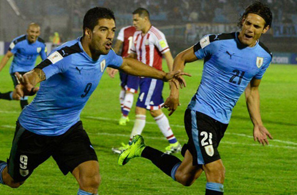 Cavani y Suárez en el Top 10 de las apuestas a goleador del Mundial