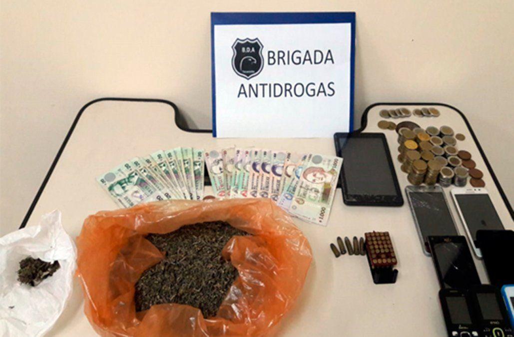 Policía desarticuló boca de venta de droga y un hombre fue enviado a prisión