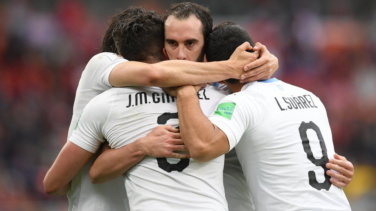 Los mejores momentos del partido Uruguay-Egipto en imágenes