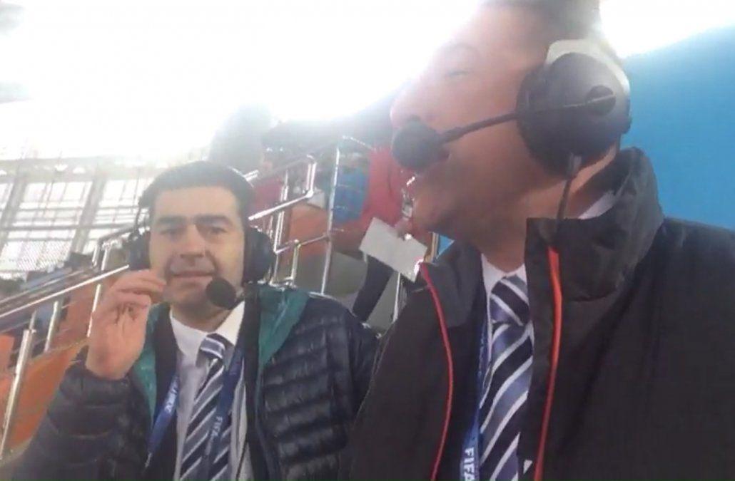 Reviví el gol de Josema en el emotivo relato de Romano por canal 10