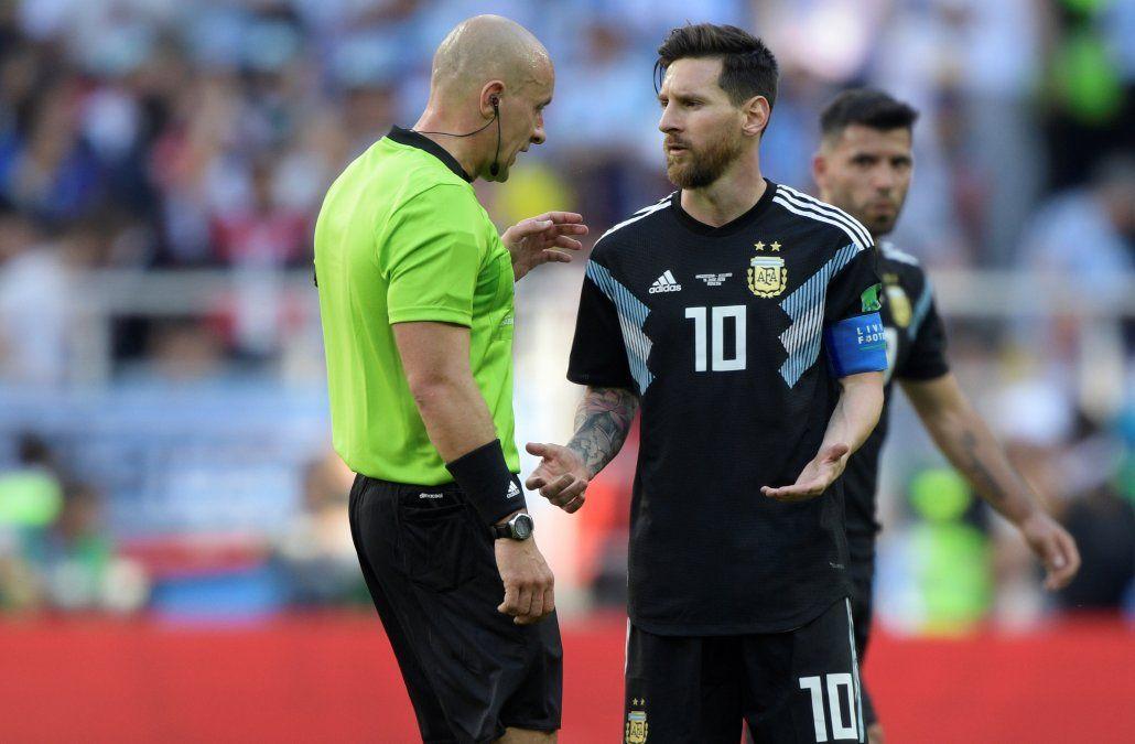 Argentina empató 1-1 con Islandia; mirá el penal que falló Messi