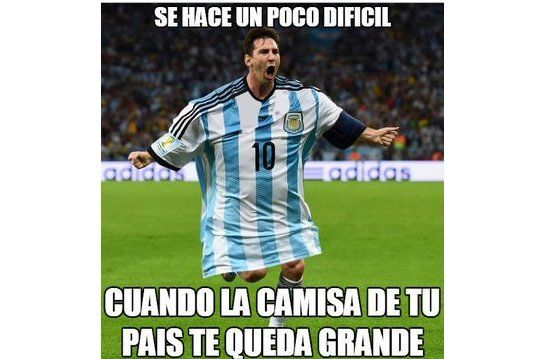 Las redes se llenan de memes luego del empate de Argentina e Islandia