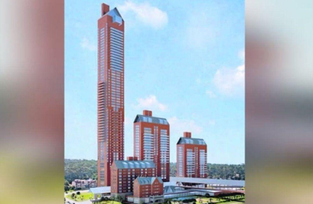 Sin puente y con una torre reducida, así será la reforma del ex hotel San Rafael
