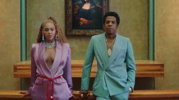 Beyoncé y Jay Z sorprenden con un nuevo video grabado en el Louvre