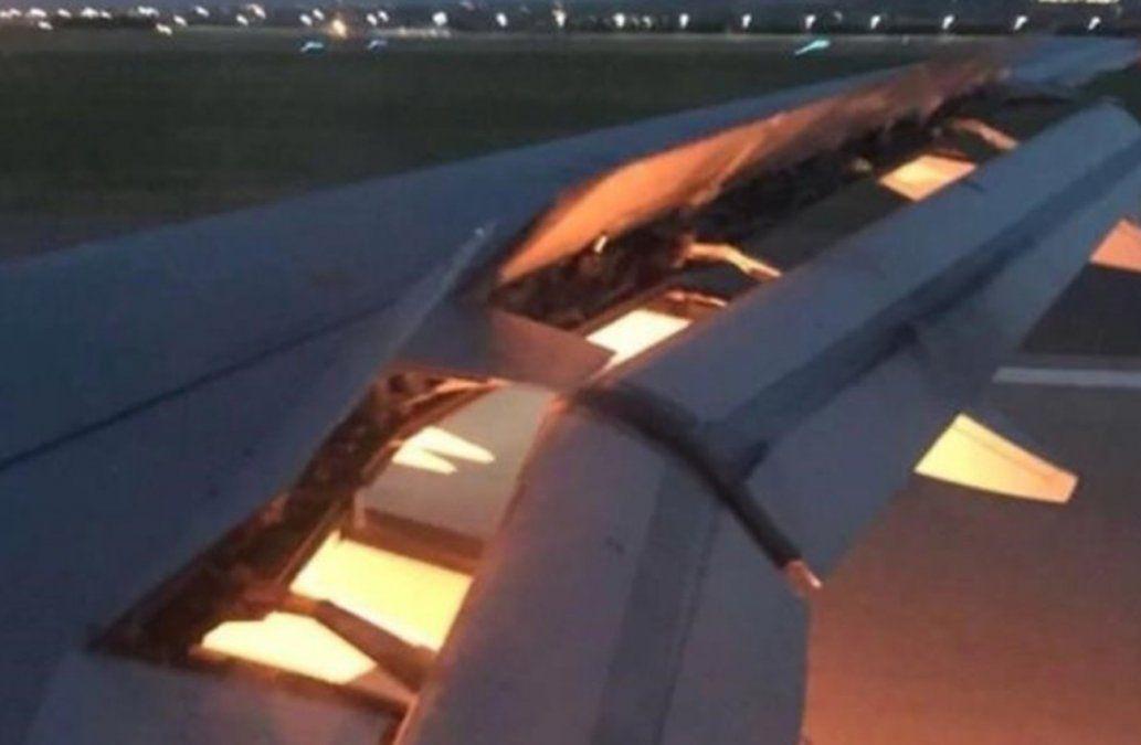 El motor del avión de la selección de Arabia Saudita se incendia en pleno vuelo