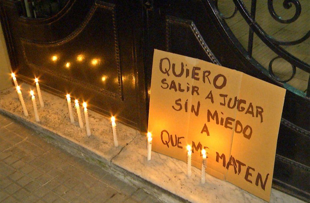Vecinos del Prado fueron a la casa de Tabaré Vázquez a pedir justicia por Mateo
