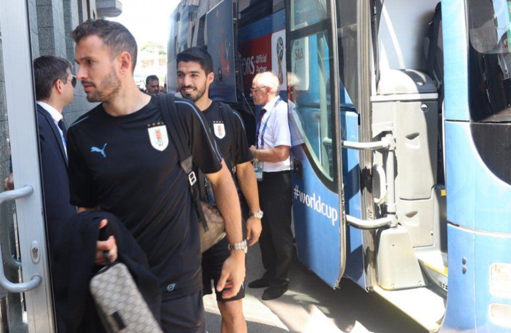 El plantel celeste se instaló en Rostov y hoy realizará el último entrenamiento