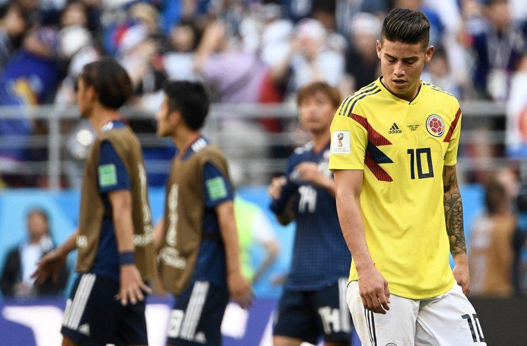 Japón se tomó la revancha de 2014 y derrotó 2-1 a una Colombia en inferioridad