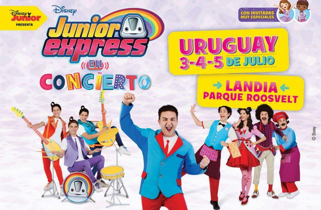 El Capitán Topa y la tripulación del Junior Express llegan a Montevideo