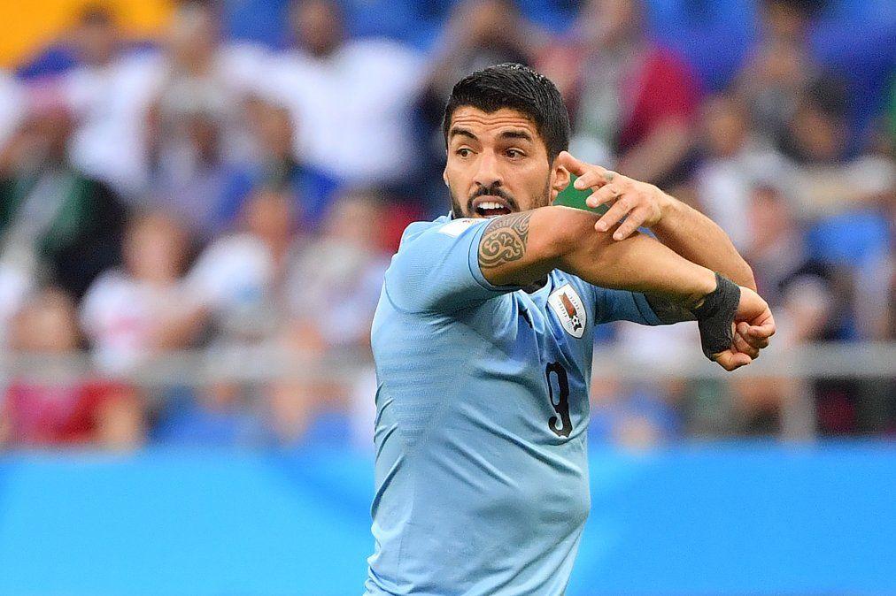 Las mejores imágenes de Uruguay - Arabia