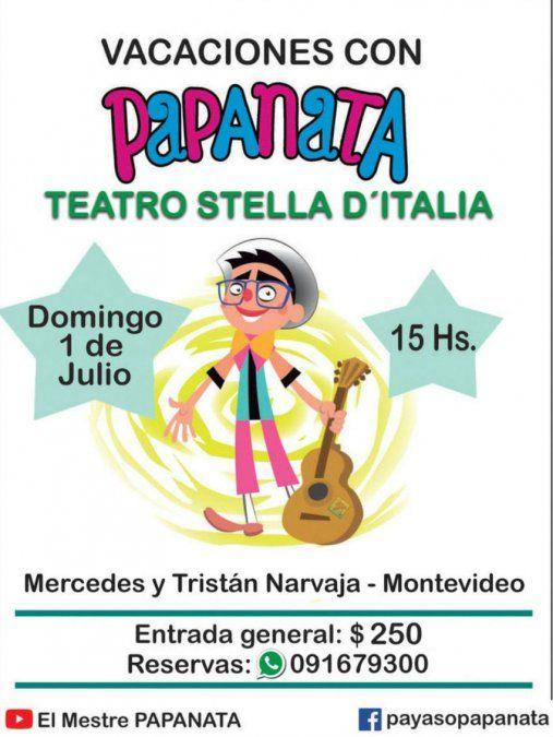 Vacaciones de julio en el Teatro Stella