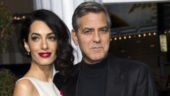 George y Amal Clooney donan 100.000 dólares en favor de menores inmigrantes