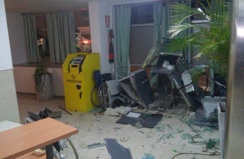 Capturan a uno de los responsables de la explosión del cajero de Rosario