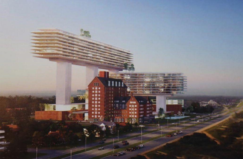 Viñoly presentó nuevo proyecto para el San Rafael con una altura máxima de 97 metros