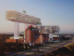 Viñoly presentó nuevo proyecto para San Rafael con altura máxima de 97 metros
