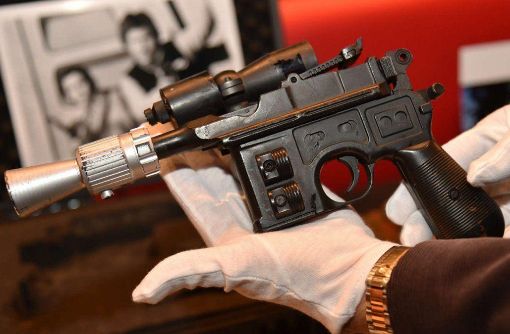 Una pistola de Han Solo en Star Wars fue rematada en 550.000 dólares