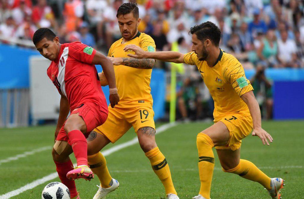 Perú se despidió del Mundial con un triunfo 2-0 ante Australia