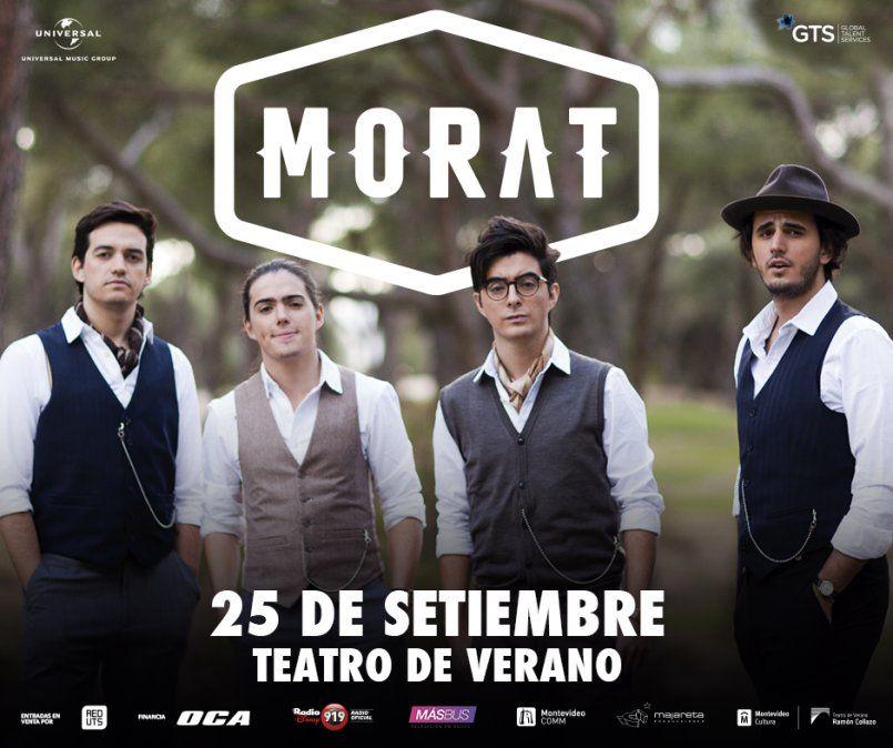 Morat por primera vez en Montevideo