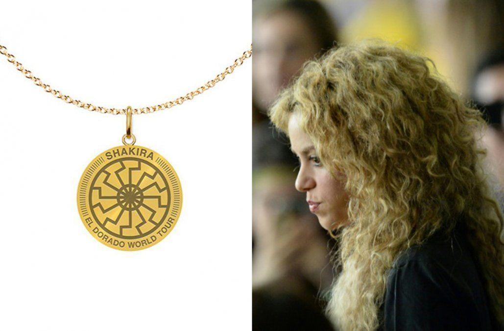 ¿Shakira promocionó su gira El Dorado con un símbolo usado por los nazis?